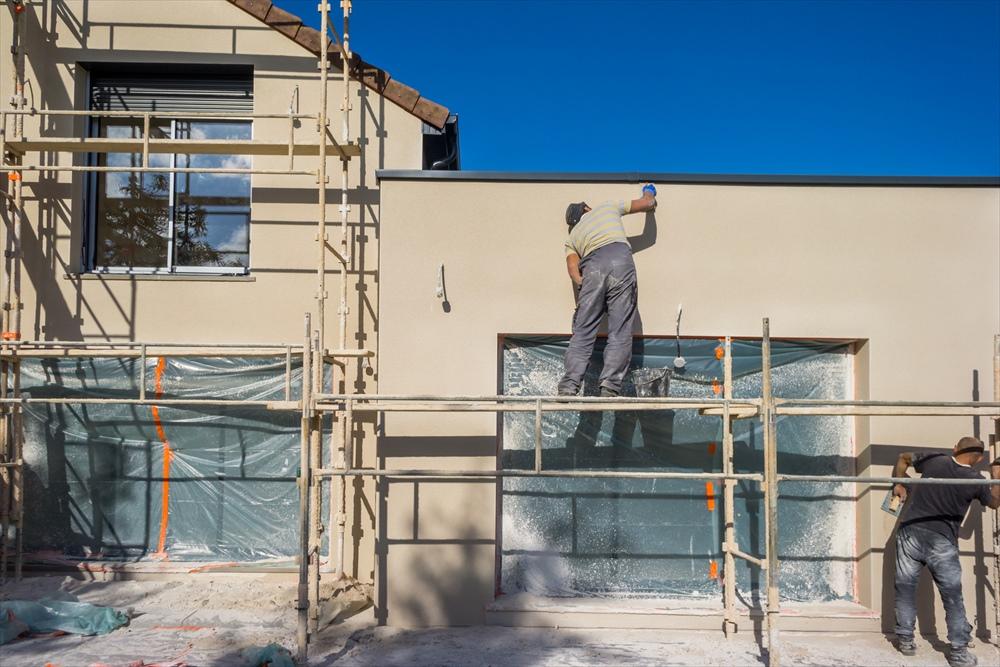 外壁塗装の種類とそのメリット(外張り断熱工法)